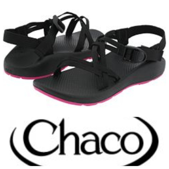 805381493 Chaco Shoes - CHACO ZX1 Yampa SANDALS Sz. 7 BLACK PINK Sport